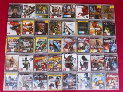 ★PlayStation 3 PS3 Games $5 each (Controllers/Band/SingStar/Etc)