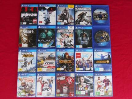 ★PlayStation 4 PS4 500GB Console & Any 4 Games (no games = $300)