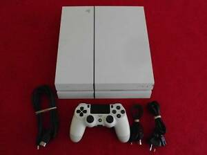 ★PlayStation 4 PS4 500GB WHITE Console & Controller (Games $20ea) Logan Village Logan Area Preview