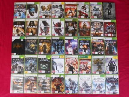 ★XBox 360 Games $5 each (Controllers/Kinects/Band/Mics/Cables)