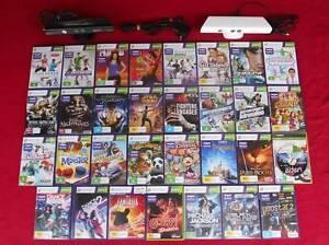 ★XBox 360 Kinect Sensor & Adventures Game (Kinect Games $10 each) Logan Village Logan Area Preview