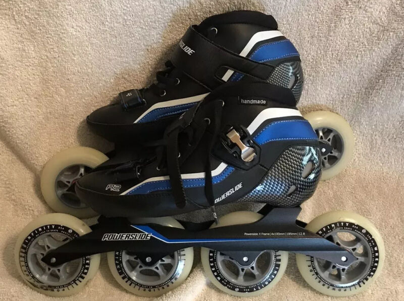 Powerslide R2 Complete Skate - Size 10 Brand New in box - Size 42 EU, 9 US