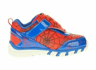 Marvel SpiderMan Toddler Boys Light-up Athletic Shoe Sneaker 7, 8, 9, 11, 12 NWT - Spiderman Light Up Sneakers