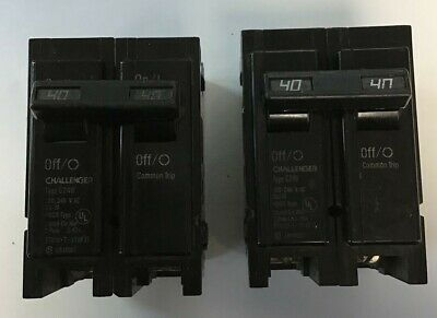Challenger C240 Circuit Breaker 40a 120240vac 2pole Lotof2