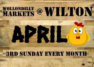 Wollondilly Markets at Wilton - April 16th Wilton Wollondilly Area Preview