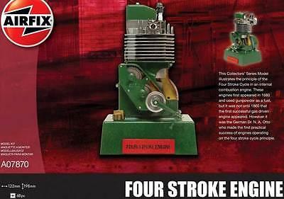 Airfix Viertaktmotor 1860 OttoMotor Modell-Bausatz ca.20x12cm Four Stroke Engine
