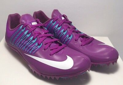 e13749570e45bb Nike Mens Size 8 Zoom Celar 5 Track   Field Sprint Hyper Purple Shoes  629226-514