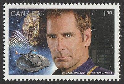 Canada Star Trek Captain Jonathan Archer $1.00 single MNH 2017