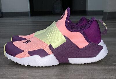 Nike Huarache Extreme GS Youth Purple/Yellow/Peach Kid's Sz 6Y (495)
