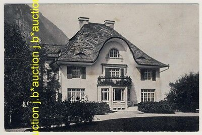 Schweiz GL Glarus NETSTAL Fabrikanten-Villa Spälty-Bally * AK um 1930