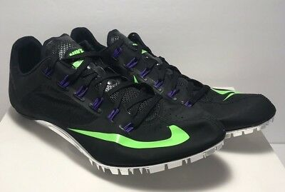brand new 47674 943df Nike Mens Size 13 Zoom Superfly R4 Track  Field Racing Sprint Black  526626-035