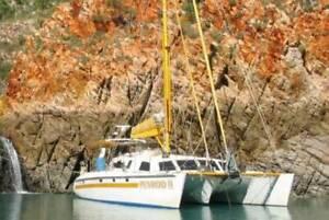 Big Live aboard sailing Catamaran Burnett Heads Bundaberg City Preview
