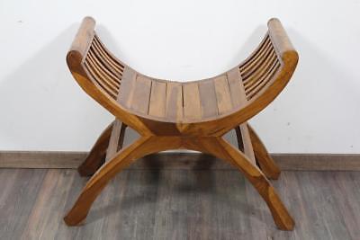 Design Sitzmöbel Stuhl Scherenstuhl aus Holz - Stuhl Aus Holz
