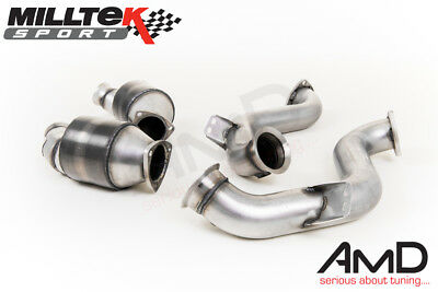 Milltek Mercedes E63S AMG W213 Exhaust Sports Cat and Downpipe