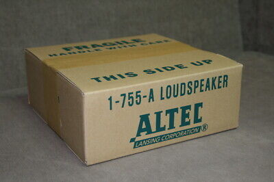 Altec Lansing 755A Speaker Carton Box 1pc Reproduction like Original