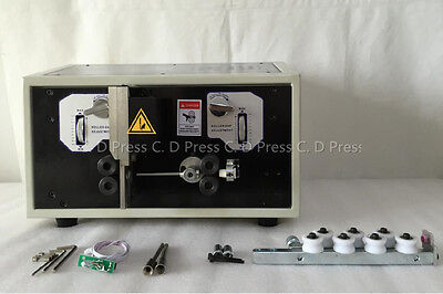 New Computer Wire Peeling Stripping Cutting Machine Swt508-sd Lcd Display