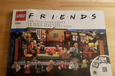 Lego Friends Central Perk Collectors Instruction Manual - 21319 Manual Only