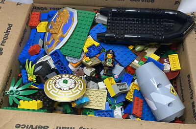 5 Lb+ Lego Bulk Lot of Assorted Loose Building Brick Five Pounds Mini Fig RARE