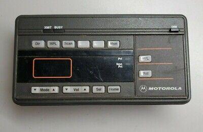 Motorola Maratrac Hcn1089a Radio Control Head No Squelch Knob Working Last Known