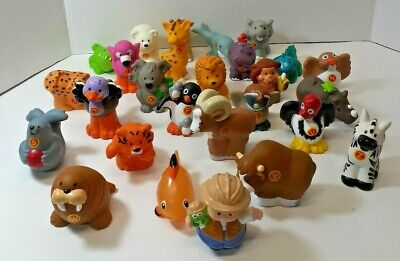Little People Animal Alphabet Learning Zoo Complete Set of 26 Letters, A-Z