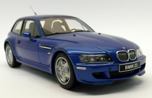 Otto Models 1/18 Scale - BMW Z3 M Coupe 3.2 Estoril Blue Resin Model Car