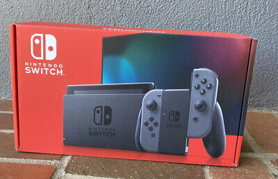 *BRAND NEW* Nintendo Switch Console 32GB with Gray Joy‑Con *IN HAND* FAST SHIP!!
