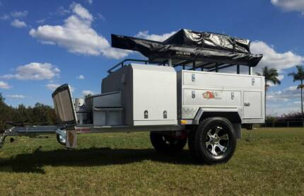 HARD FLOOR  FULL OFF ROAD ROOF TOP CAMPER WITH  SUPERWING AWNING Brendale Pine Rivers Area Preview