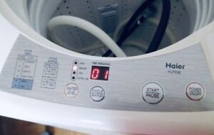 NEW apartment size 5kg Haier portable washer  .. //canDeliver