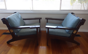 Rare vintage 1975 TESSA T5 ARMCHAIRS $2000 ONO Dingley Village Kingston Area Preview
