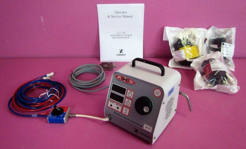 Zimmer ATS 750 Automatic Surgical Tourniquet System w/ Tubing & Stryker Cuffs