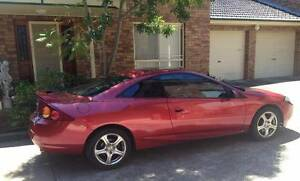 Laser Red V6 2000 Ford Cougar Coupe with Sun Roof..One Owner Baulkham Hills The Hills District Preview