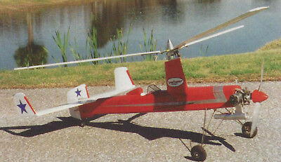 Gyro V Autogyro Sport Airplane Plans  Templates And Instructions 50Ws