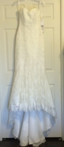 "La Sposa ""Mullet"" Lace Wedding Gown"