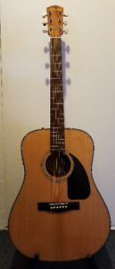 ACCOUSTIC ELECTRIC guitar - like NEW
