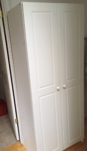 white cabinet for sale 50$