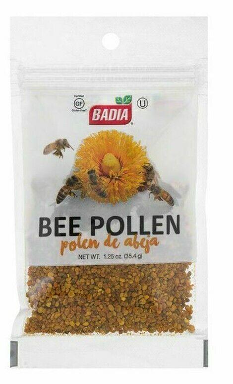 2  Badia® BEE POLLEN /Granules/Pure/Polen/de/Abeja/Granulado/Kosher GF 1.25 oz 5