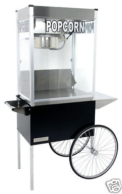 Commercial 12 Oz Popcorn Machine Theater Popper Maker Cart Paragon Pro Ps-12