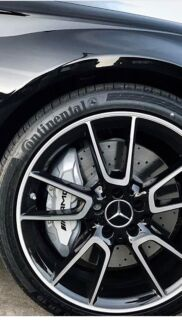 "Mercedes-AMG 2017 genuine 19"" rims and tyres"