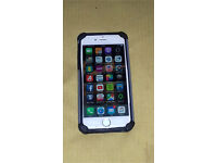 iPhone 6 in white/silver unlocked