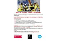 Construction course Southampton/Winchester - Oct/Nov with The Prince's Trust & CALA Homes