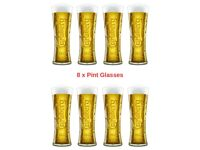 8 x Carlsburg 1847 Lager Pint Glasses £40 - Offers Considered