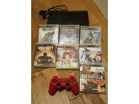 PS3 500GB 7 games bundle