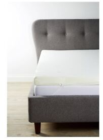 Double, Thick, Orthopaedic Hypoallergenic Memory Foam Mattress Topper with Cover