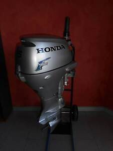 HONDA BF15D FOUR STROKE 15 HP OUTBOARD  MOTOR 2006 MODEL Southport Gold Coast City Preview