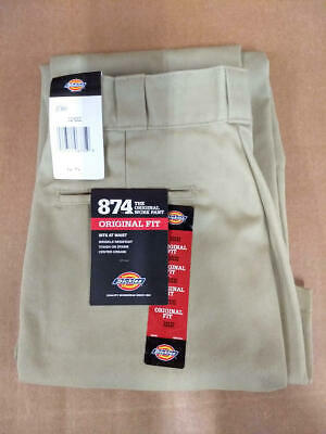 Dickies Men's Original 874 Work Pant, Black, 32x32