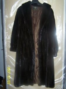 Mink fur LIKE NEW, new lining in silk/ Furure VIZON  NEUF SEP6