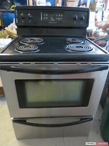 Electric Stove stainless steel In excellent condition