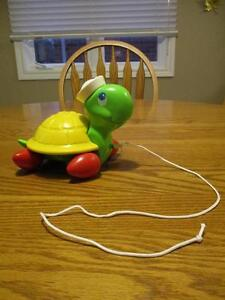 Fisher-Price Pull-along Turtle London Ontario image 1