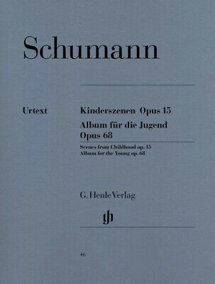 Schumann - Kinderszenen op. 15 und Album für die Jugend op. 68 -Urtext - Klavier