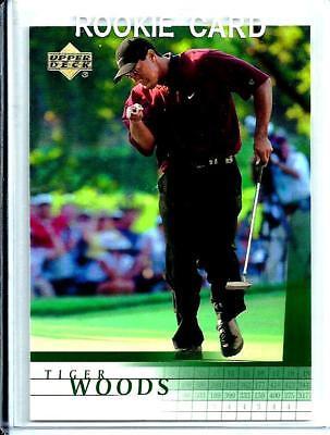 2001 Upper Deck # 1 Tiger Woods *Rookie* U.S.A. PGA Tour
